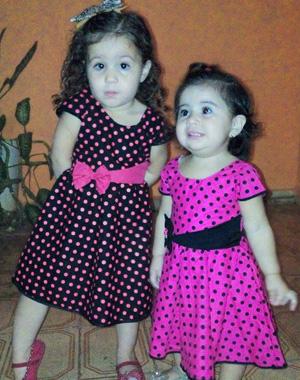 Para a Isabella a boa foi curtir a irmã e Rafaella