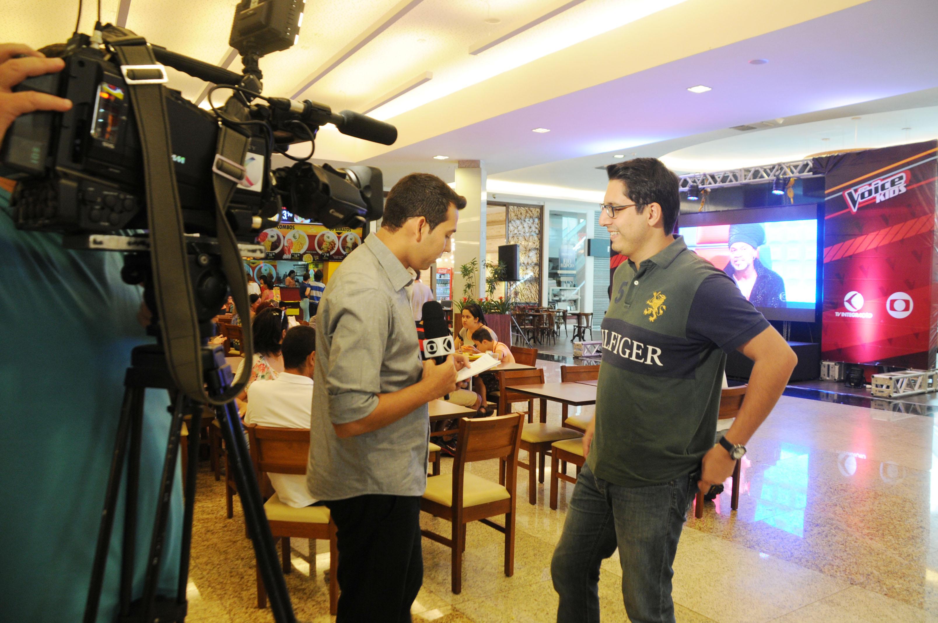 TV Integração promove ação do The Voice Kids em Uberlândia