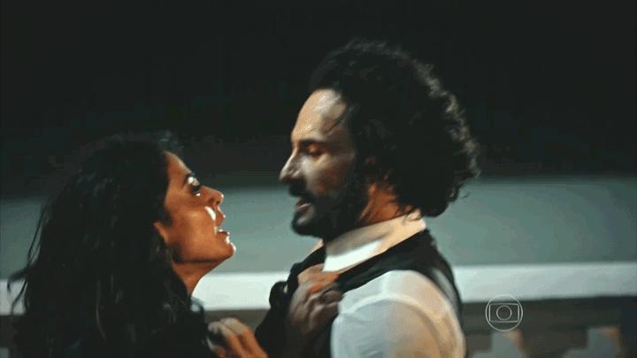 Iolanda e Afrânio e o beijo te amo-te odeio