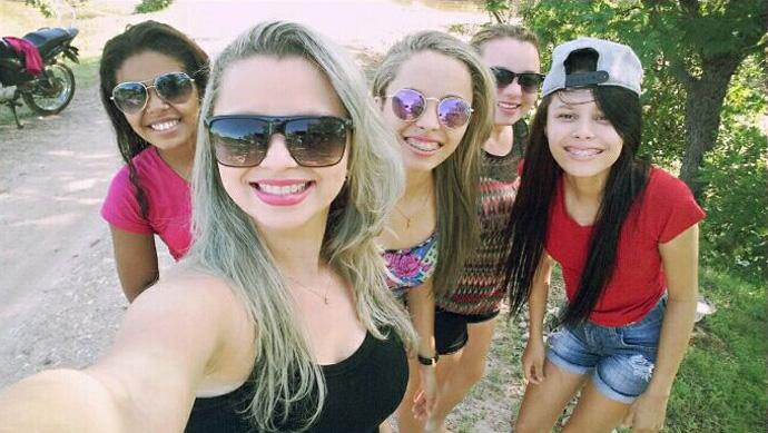 Você por aí: Rayanne, Camila, Tatiane, Tatiele e Bruna em Alto Longá-PI