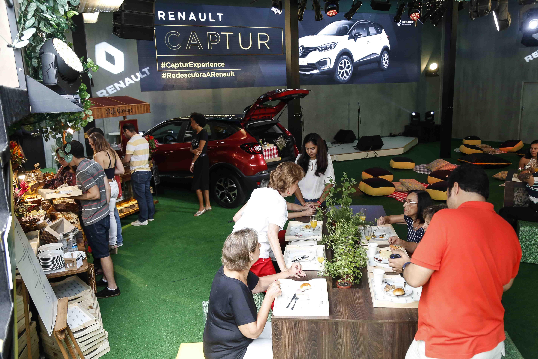 Chef e padeira Fernanda Valdivia leva para a Renault Captur Experience produtos feitos no seu sítio