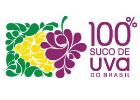 Logo  100% Suco de Uva do Brasil