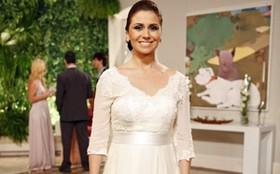 Conheça o vestido de noiva que Claudia usará no casamento com Rubinho