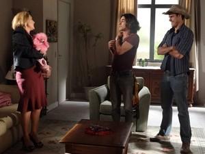 Josué aceita testemunhar contra Isaías (Foto: Morde&Assopra/TVGlobo)