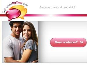 Acesse o site que René Junior usa em Fina Estampa (Foto: Fina Estampa / TV Globo)