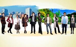 Jogo dos personagens (Foto: A Vida da Gente/TV Globo)