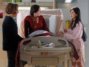 Manu tenta se explicar, deixando Ana ainda mais acabada (Foto: A Vida da Gente - Tv Globo)