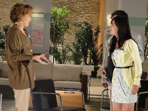 Manu lembra que Ana já não aguentava mais Eva (Foto: A Vida da Gente - Tv Globo)