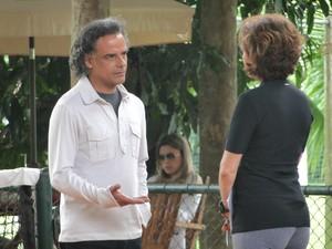 Vitória e Marcos (Foto: A Vida da Gente/TV Globo)