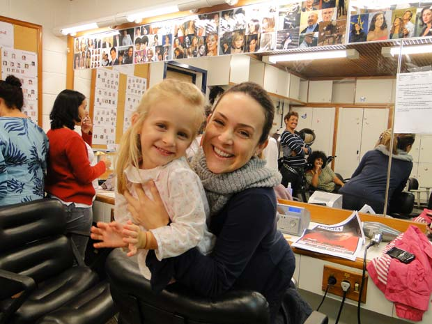 Gabriela Duarte e filha