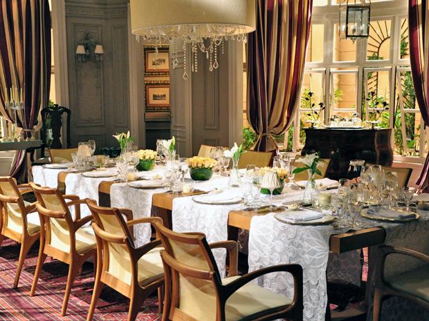 jantar noivado de Diana e Gerson
