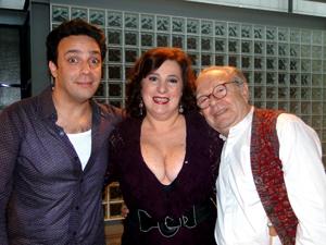 Marcelo Médici, Lulu Pavarin e Emiliano Queiroz