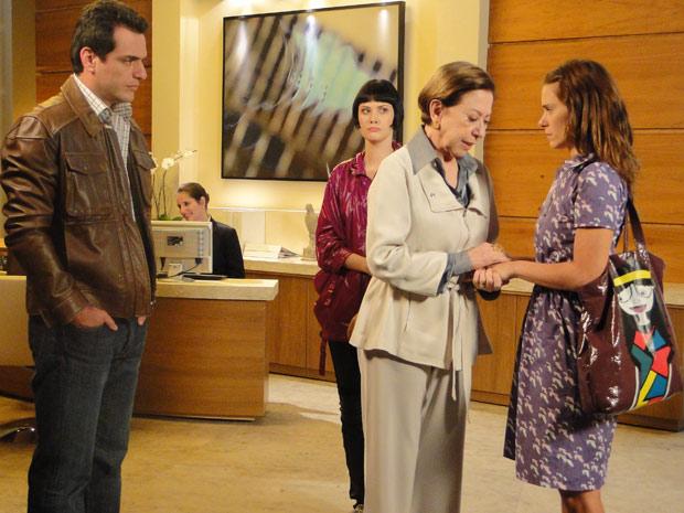 Bete pede a Diana que fique ao lado de Gerson