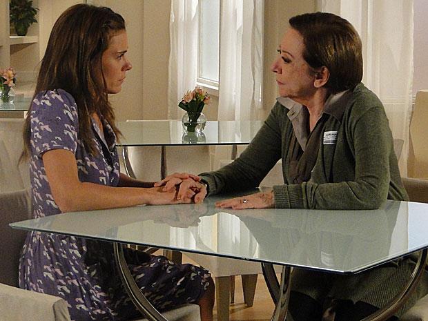 Bete implora para que Diana fique com Gerson