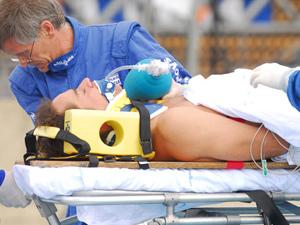 Gerson sofre acidente pela segunda vez