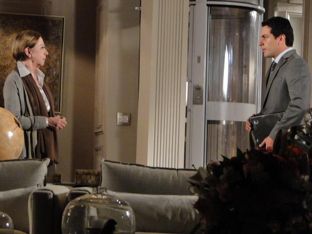 Mauro diz a Bete que projeto da Skinny Top foi sabotado