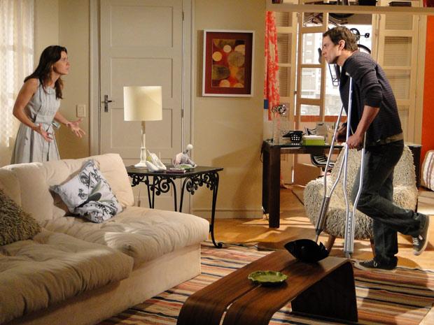 Diana quer o divóricio e diz a Gerson que ela não o ama mais