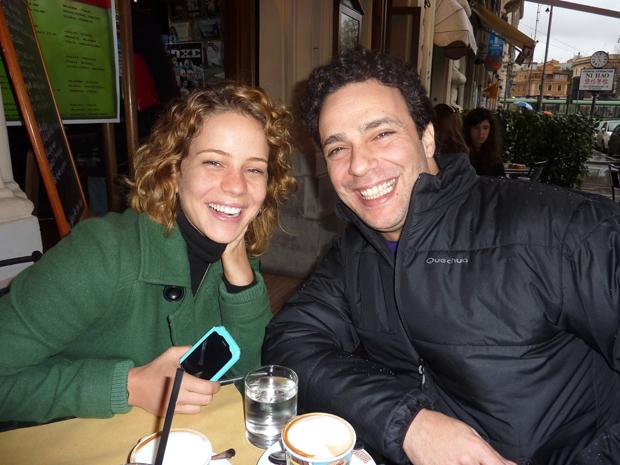 Leandra Leal e Marcelo Médici