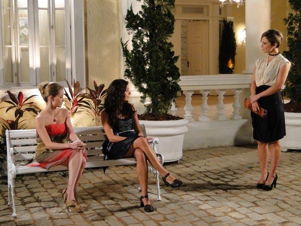 Marcela explica que ouviu algumas modelos falando mal de Luísa na agência