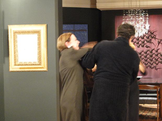 Bete dá tapa em Saulo