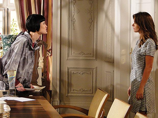 Diana perde a paciência com Melina