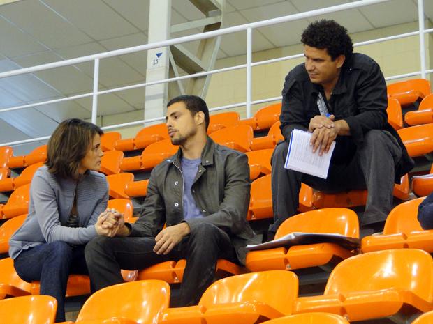 Bianca Bin e Cauã Reymond são dirigidos por André Câmara