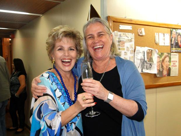 Irene Ravache e Vera Holtz comemoram aniversário