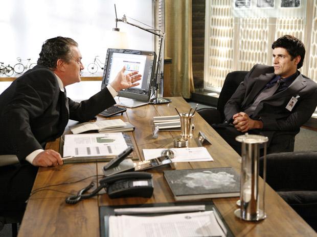 Saulo diz a Fred que ele está demitido