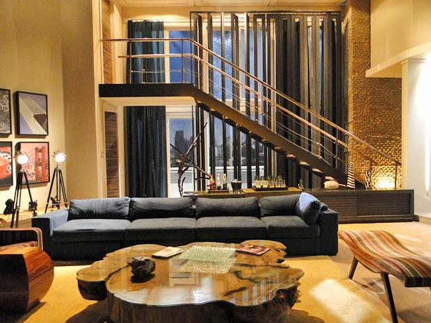 Decoração apartamento de Fred e Agnello