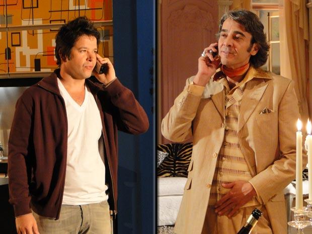 Jacques liga para Suzana e Ari atende