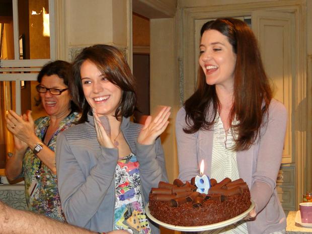 Bianca Bin comemorou o aniversário atuando