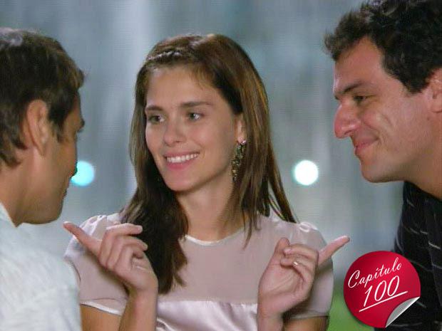 Gerson, Diana e Mauro
