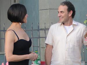 Rola um clima entre Gino e Rebeca