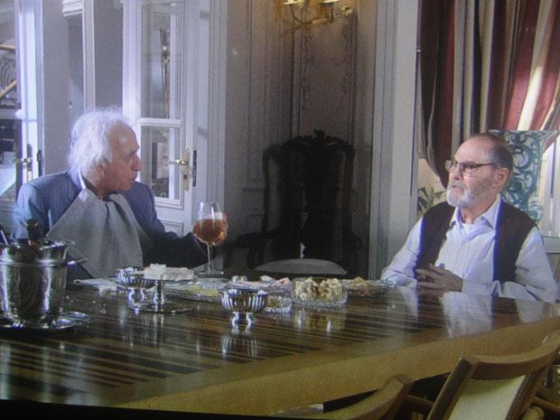 Fortunato deixa Antero preocupado ao revelar que Benedetto e Mimi estão no Brasil