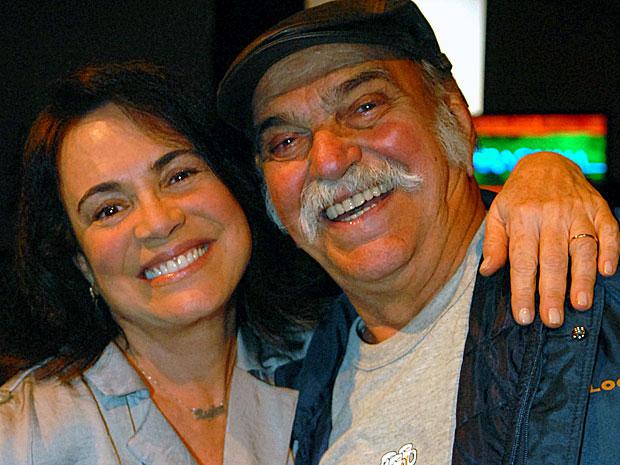 Lima Duarte e Regina Duarte