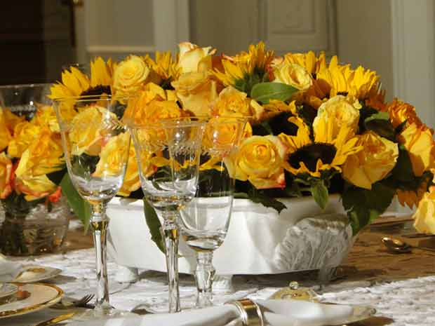 decoração jantar de bete