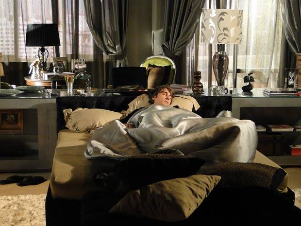Jacques não levanta da cama com medo de Victor Valentim