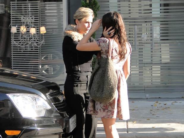 Ela ampara Marcela