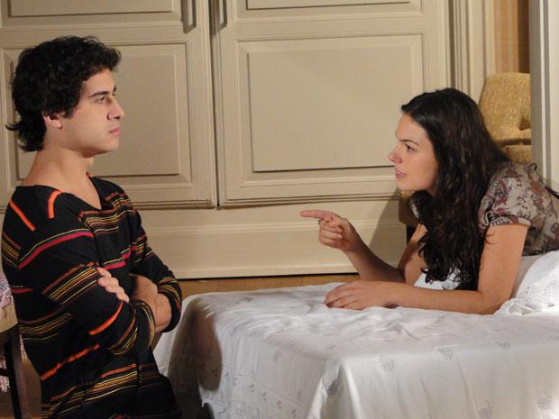 Julinho aconselha Marcela a ir atrás de Edgar
