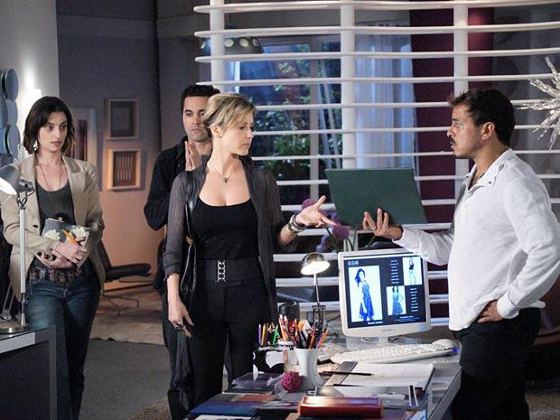 Luisa comunica que vai se desligar da agência