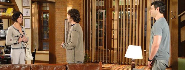 Rebeca agradece Luti por ter recebido Camila no dia que ela fugiu da igreja