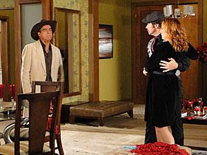 Ari diz que estava ensinando Gigi a dançar tango