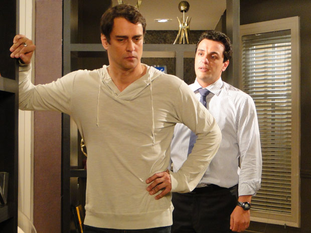 Gerson desabafa com Mauro
