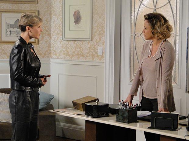 Luisa pede que Bruna a desculpe