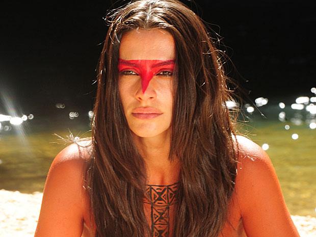 Estela faz ritual Karuê