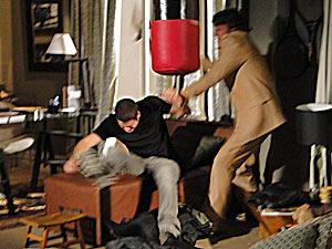 Jacques perde o controle com Pedro