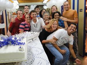 Aniversário Serginho com a equipe