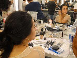 Cleo maquiagem