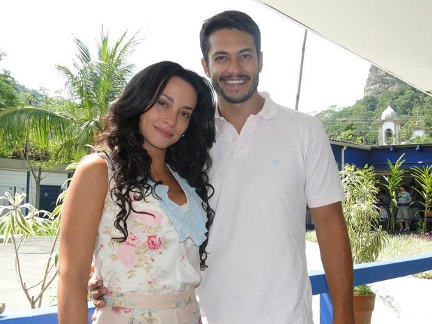 Raphael Viana e Susana Pires