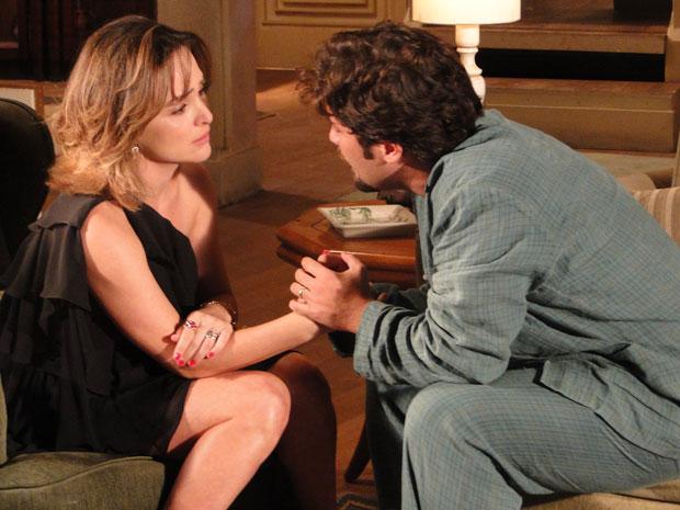 Berilo termina tudo com Jéssica e diz que ama Agostina
